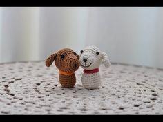 Amigurumi como hacer un perro en crochet - YouTube