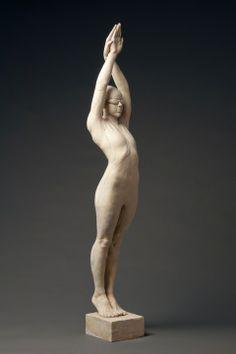 deon duncan : figure sculpture : The Triathlete Hydrostone