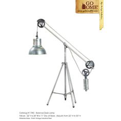 """Found it at Wayfair.ca - Balance Desk 22"""" H Table Lamp with Bell Shade"""