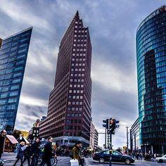 #potsdamerplatz on a #cloudy day. #berlin #igersberlin #berlincity #berliner #berlinmitte #ig_berlin #ig_europe #ig_street #ig_germany #ig_deutschland #cityscape #cityscapes_skyscrapers #skyscraper #architectureporn #architecture #ig_architecture #traveltogermany #berlinbreeze #berlinlife #berlinstagram #berlinphotography #archilovers #architexture #architektur #architect