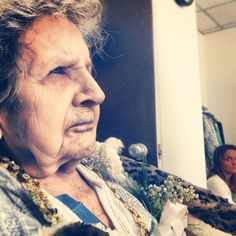 Ma grand mère,100 ans