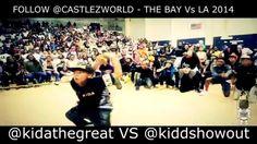 TommyTheClown: BayVsLA2k14   Kida vs Kidd Showout