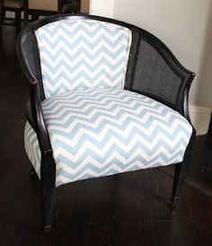 DIY upholstery-  ooh! I have a pair of these chairs tat need redone!