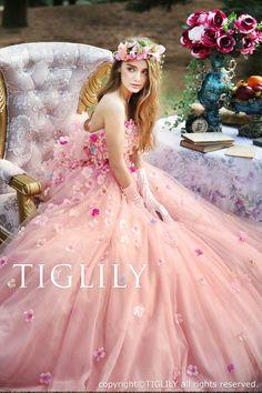TIGLILY カラードレス c175