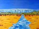 Lebensfluss trifft Ewigkeit All Inclusive Urlaub, Golf Courses, River, Life, Kunst