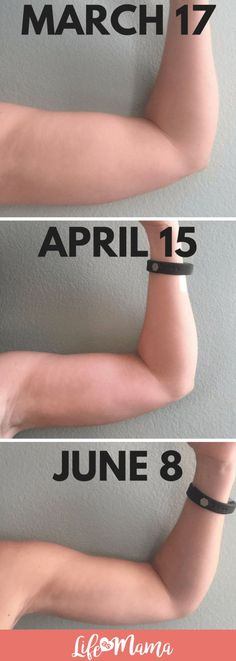 How I Toned My Arms In Less Than 3 Months using only 5 pound weights 4x a week! #tonedarms #fitness #workout #armflab