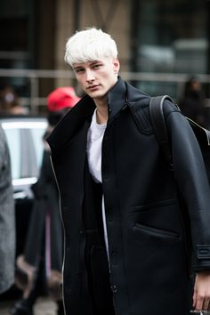 Benjamin Jarvis at NYFW F/W 2014, from Buro
