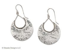 Silpada. These hammered crescent shaped earrings grace the ears without dragging them down!  A big look but comfortable to wear, gets this pair of earrings a spot on my best seller list. W1539  Shop www.mysilpada.com/melanie.miller1
