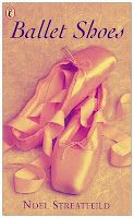 Ballet Shoes (and other 'Shoes) - Noel Streatfield - My absolute favorite books when I was little.  Have reread as an adult. If you haven't read them... read them now :)
