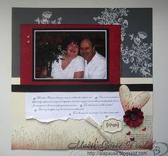 A La Pause: janvier 2011 Marie-Josée Trudel Stampin Up Amour Par définition Valentine Defined
