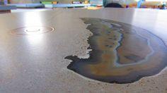Concrete Inlay Ideas Architect S Home Alpine Texas
