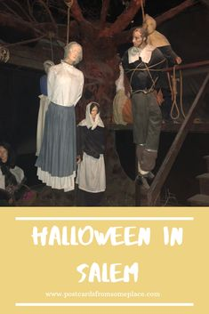 "Celebrating Halloween in Salem is so wildly popular, not only because of its resonant history, but also because Salem has infused the ""witch"" culture into its city. #salemmassachusetts #salemwitchtrials #salemwitchtrials #travelblogger #halloweeninsalem #finzsalem #theuglymugdiner #salemwitchtrialshistory"