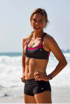 Our friend, surfer Sally Fitzgibbons, one of the top ranked surfers in the world!  #sallyfitzgibbons #surfing #beach #bikini #sports #aussie