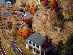 Model Train Scenery