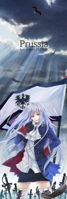 Fem! Prussia she's so fucking cool like WTF. she's the hottest among the Hetalia girls I swear