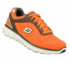Men's Synergy - Power Shield by Skechers Skechers Mens Shoes, Orange Shoes, Give Thanks, Training Shoes, Sandals, Boots, Sneakers, Flow, Shopping