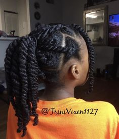 Protective Hairstyles For Natural Hair, Natural Hair Twists, Long Natural Hair, Hairstyles For African Hair, Curly Hair Styles, Natural Hair Styles, Hair Shrinkage, Beautiful Black Hair, Costume Noir