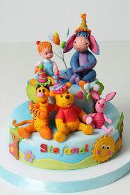 Torturi - Viorica's cakes: Winnie si prietenii lui pentru Stefanel