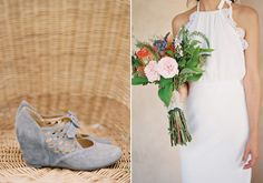 Stone Cold Fox wedding dress  | photo by Michael Radford | 100 Layer Cake