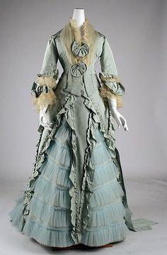 Дневник девушки,мечтающей о прекрасном - Женская мода 1870-х годов.