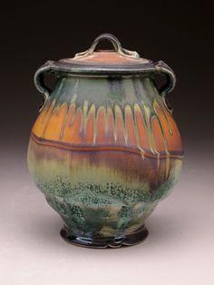 Pottery Pots, Glazes For Pottery, Ceramic Pottery, Pottery Place, Glazed Pottery, Thrown Pottery, Kintsugi, Ikebana, Steven Hill