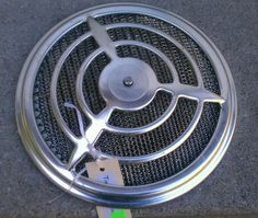 Vintage 1950s nutone 8210 ceiling wall chrome kiitchen for Emerson pryne exhaust fan replacement motor