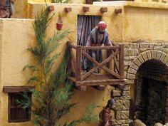 Pagina nueva 1 Christmas Nativity Scene, Cribs, Painting, Bethlehem, Doll Houses, Middle East, Israel, Biscuit, Models