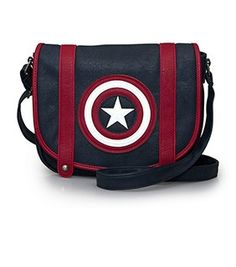 Loungefly x Captain America Crossbody Bag