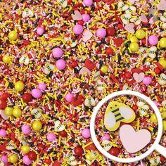 Bee Mine Sprinkle Mix – Sprinkle Pop