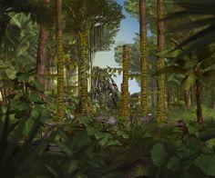 Perfect Earth Amazon Rainforest wood ruins