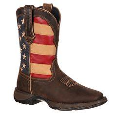 Durango Women's Patriotic Lady Rebel Western Boots
