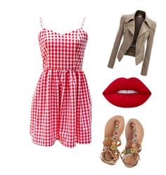"""A day in town (spring)"" by erwtug ❤ liked on Polyvore featuring Lime Crime and Laidback London"