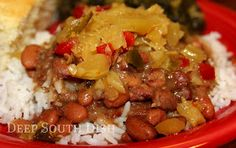 Deep South Dish: Pinto Beans and Rice