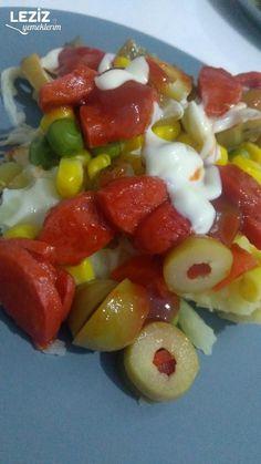 Borcamda Ev Yapımı Kumpir (Muhteşem Lezzet) - Leziz Yemeklerim Fruit Salad, Salsa, Food, Fruit Salads, Essen, Salsa Music, Meals, Yemek, Eten