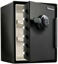 SentrySafe 2-Cu.-Ft.Fireproof & Waterproof Safe with Digital Keypad SFW205EVB #SentrySafe Charcoal Grill Smoker, Digital Lock, Door Handles, Door Knobs, Door Knob