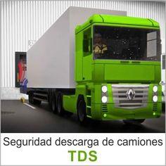 El sistema de acoplamiento para camiones (TDS) es una solución que advierte al conductor, mediante un semáforo, cuando hay presencia de operarios en el muelle de carga.
