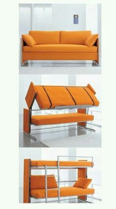 what an awesome bedsofa for a dorm or smaller room this sofa bunk bed is a great use of space if you need furniture