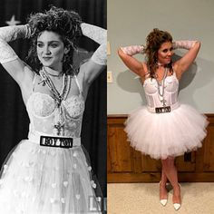 Madonna Costume w Boy Toy Belt n Accessories~ Madonna Bride Costume~ High Quality Madonna Like Virgin Outfit~ Size 0 2 4 6 8 10 12 14 16 80s Theme Party Outfits, 80s Party Costumes, 1980s Costume, Outfits Fiesta, 80s Halloween Costumes, Madonna 80s Outfit, Madonna Costume, Mesh Tops, Tom Selleck