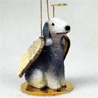 Bedlington Terrier Christmas Ornament Angel: Nothing beats the exceptional look and quality of our Bedlington Terrier Ornament. Among the…