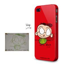 le dessin de son enfant transformé en œuvre d'art sur la coque du téléphone de papa (ou maman!) chez madamepopandkids.fr