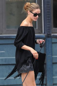 That's a Wrap: Karlie Kloss, Kendall Jenner, and Alessandra Ambrosio Tie Up New York Fashion Week in Off-Duty Buns – Vogue - Olivia Palermo