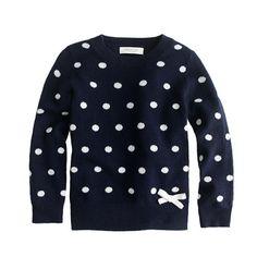 Polka dots and a bow :)