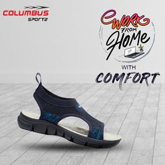 A man is never relaxed than when he is comfortable in his sandals. Presenting #columbus #sandals from house of columbus. #comfortablesandals #clbsandals #workfromhome Lightweight Running Shoes, Running Shoes For Men, Comfortable Sandals, Kids Sports, Sports Shoes, Your Shoes, Shoes Online, Footwear, Lady