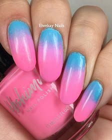 Neon Cotton Candy Gradient with KBShimmer - Daily Fashion Cotton Candy Nails, Makeup Sponge, Creative Nails, Hello Everyone, Daily Fashion, Just Love, Things To Think About, Nail Polish, Nail Art