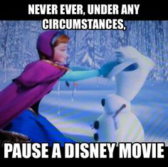 never pause a disney movie never paus a disny moive pinterest