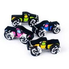 Check out Monster Truck Erasers (12-pack) - Wholesale Party Decorations and…
