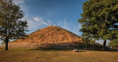 The largest ancient burial mound in Ohio