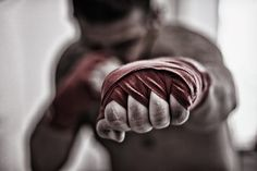 how to wrap your hands.... #boxing #muaythai