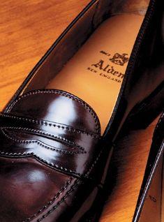Alden shoes.
