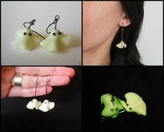 Ghosts Earrings by GemDeDude